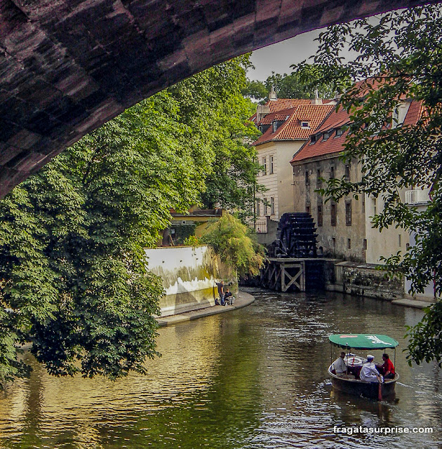 Ilha de Kampa, Centro Histórico de Praga, Tchéquia