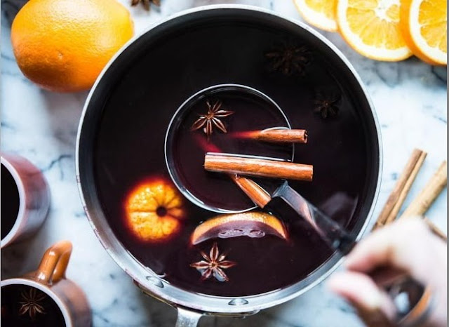 Slow Cooker Mulled Wine #drinks #cocktails