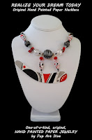 http://popartdiva.blogspot.com/2017/10/black-gray-red-white-contemporary-original-hand-painted-watercolor-paper-necklace-art-jewelry.html