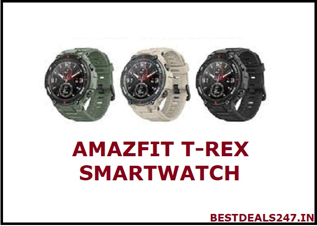 Amazfit T-Rex smartwatch launched in India