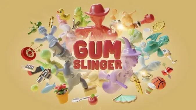 Gumslinger مزيج فريد من المهارة والمنافسة والفيزياء والحلوى اللذيذة والمرح!