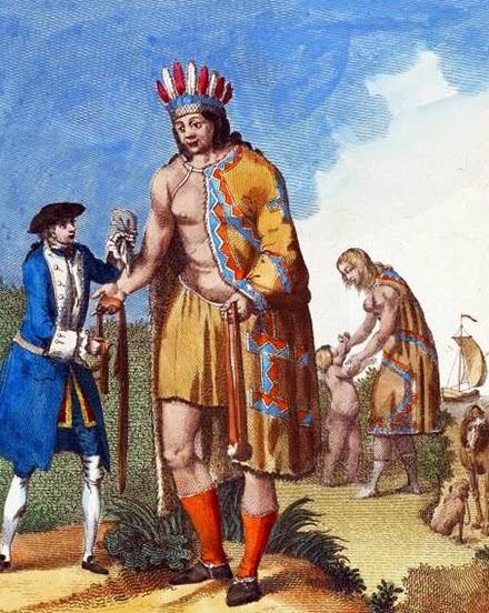 El gigante que tuvo contacto con exploradores europeos
