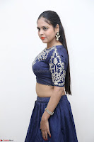 Ruchi Pandey in Blue Embrodiery Choli ghagra at Idem Deyyam music launch ~ Celebrities Exclusive Galleries 003.JPG