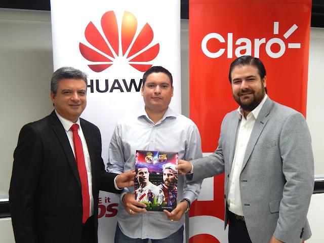Huawei y Claro sortearon viaje a Madrid