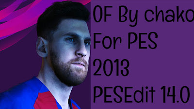 PES 2013 PESEdit 14.0 Patch Option File Season 2019/2020