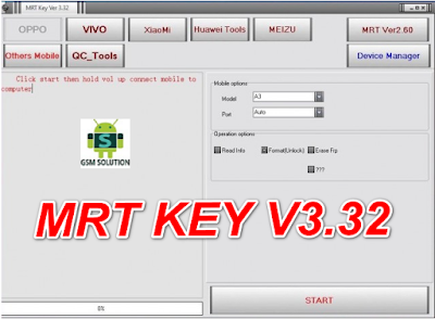 MRTKEY V3.32 Latest Update Download For OPPO Support MTK 6771 &MTK 6763.