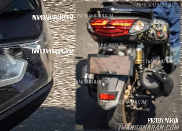 Tampak Belakang dan Depan New Yamaha Nmax 155 VVA