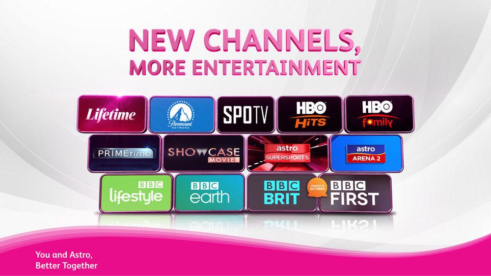 Senarai Channel Baru Astro Bermula 15 September 2021