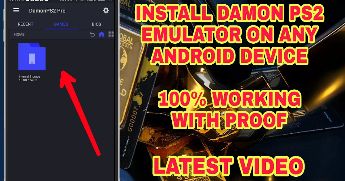DAMON PS2 PRO APK DOWNLOAD FREE ( PS2 Emulator for Android