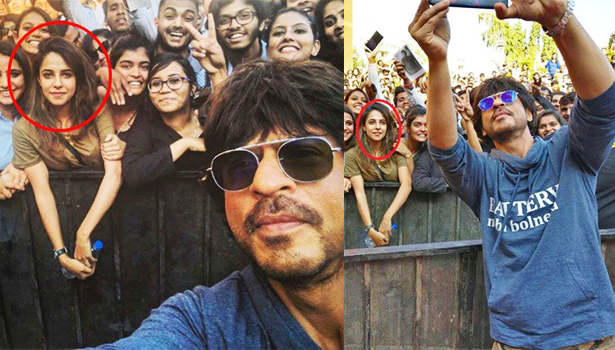 saima, shahrukh khan's selfie girl