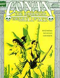 Marvel Graphic Novel: Conan the Barbarian: The Skull of Set