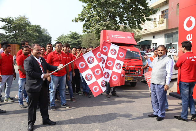 VODAFONE SuperNetTM 4G ON SUPERIOR 1800 MHZ LAUNCHED IN AMBALA
