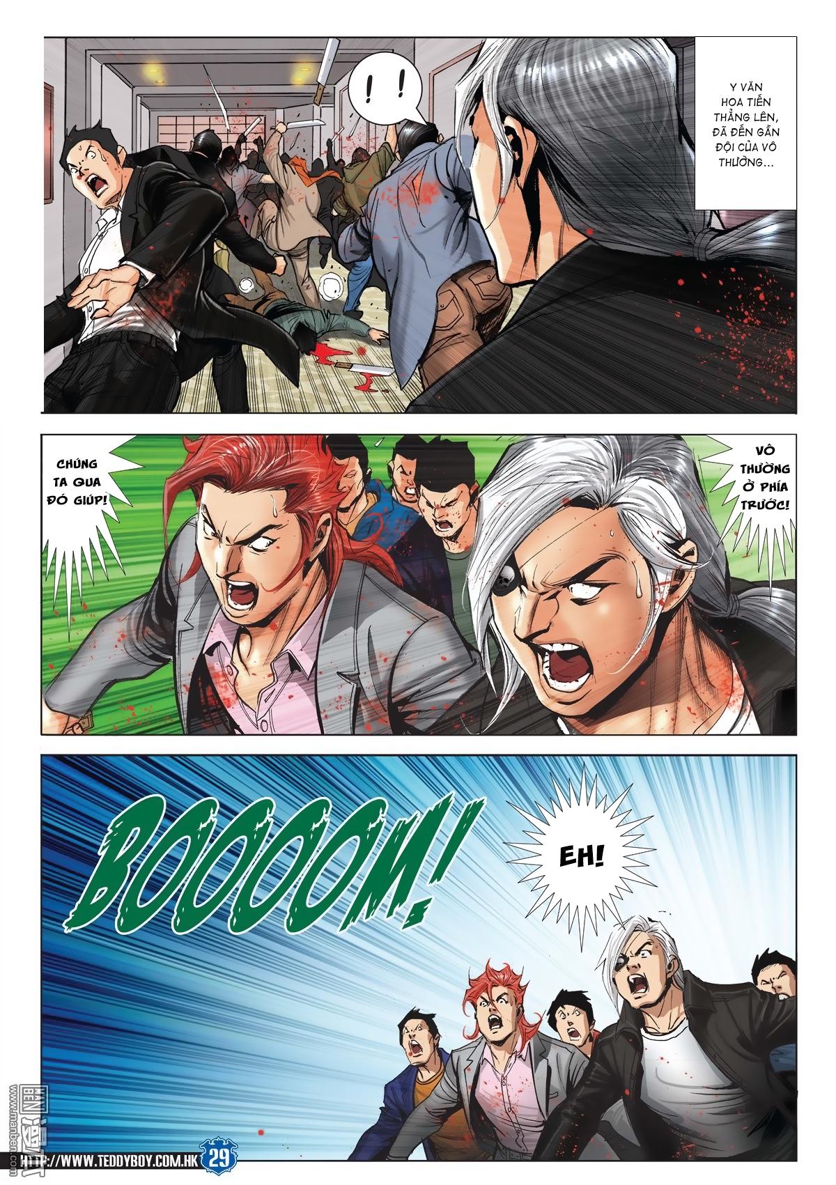 Người Trong Giang Hồ chapter 2026: khí diệm tông sư trang 28