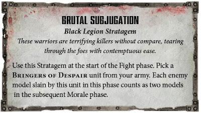 Estratagemas Legión Negra