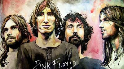 Rick Wright, Roger Waters, Nick Mason y David Gilmour