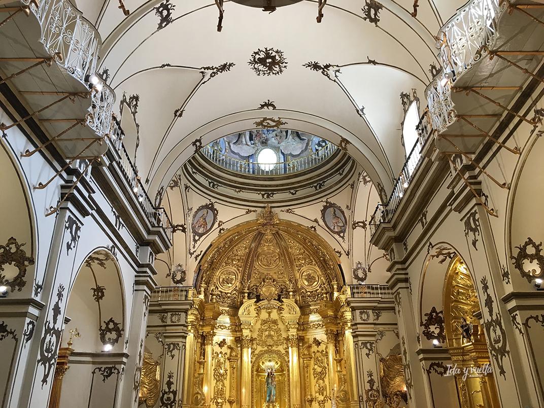 Lorca iglesia del Paso Blanco Capilla del Rosario