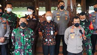 Pangdam IV/Diponegoro Dan Kapolda Jateng Berikan Arahan Terkait Penanganan Covid-19 Di Wilayah Kabupaten Jepara