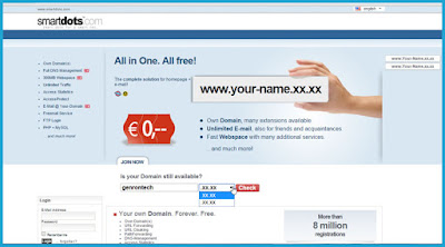 domain gratis smart dots