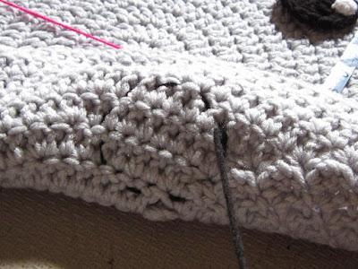 crochet, elephant rug, sewing
