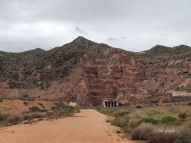 Minas de oro en Cabo de Gata