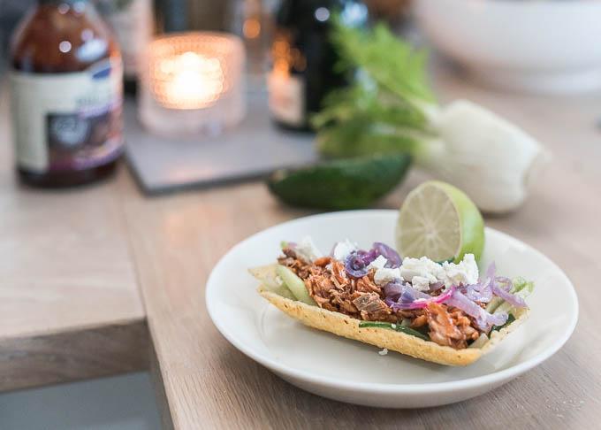 viikonloppuruoka, nyhtölohitacot, perjantairuoka, smoked salmon