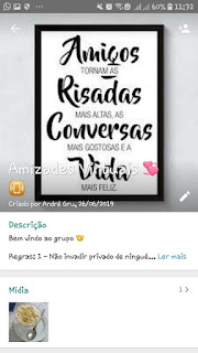Amizade Conversas - Grupo de WhatsApp