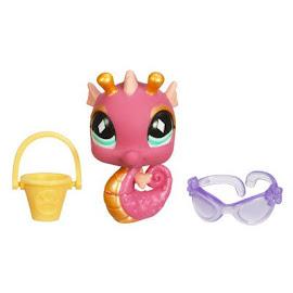 Littlest Pet Shop Purse Seahorse (#660) Pet
