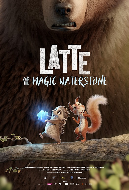 Latte and the Magic Waterstone 2020 Full Movie In Dual Audio