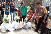 Bimas Angke Ditantang Oleh FKDM dan LMK Untuk Lomba
