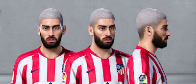 PES 2020 Faces Yannick Carrasco by Owen31