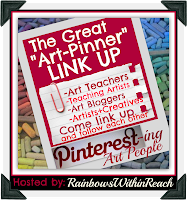 photo of: Pinterest Directory for Artists, Art Teachers, Teaching Artists + Creative types LINKUP (via RainbowsWithinReach)