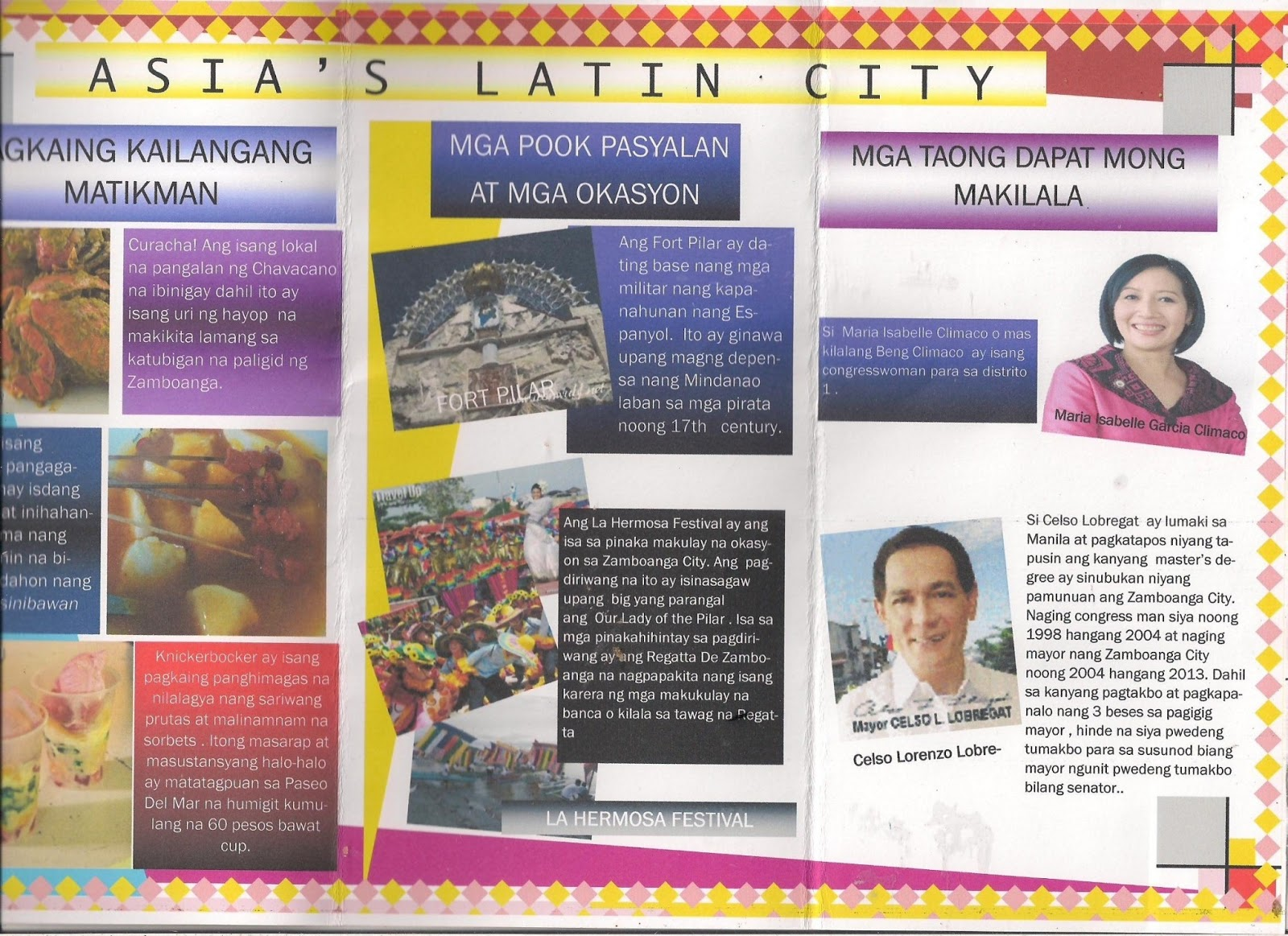 Filipino Baitang 7 Brochure