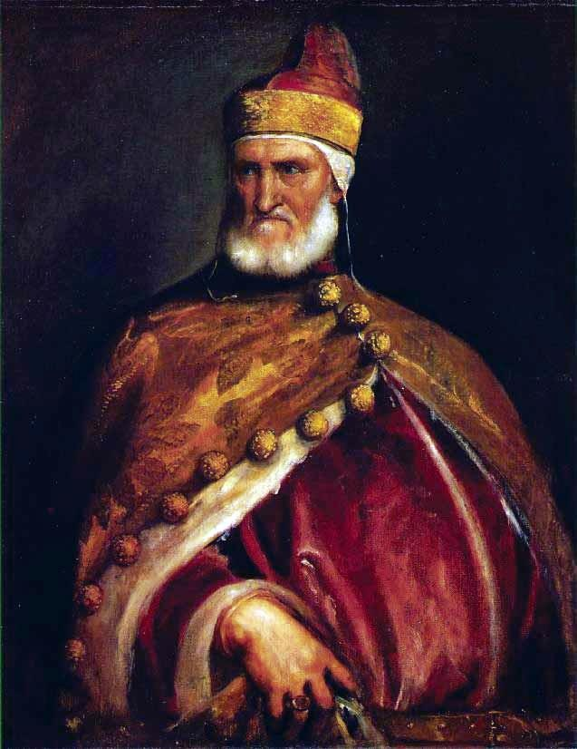 Enrico Dandolo, Venetian doge that led the crusaders into Constantinople