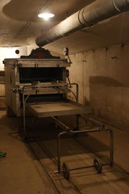 Uno dei forni per il pane presente al Forte di Mutzig