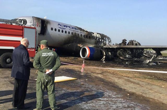 Aeroflot havayollarına ait bir Sukhoi Superjet 100 yolcu uçağı 5 Mayıs 2019 tarihinde Rusya'nın başkenti Moskova'da bulunan Şeremetyevo Havalimanında iniş sırasında alev aldı ve pistte sürüklendi. Kazada 41 kişi öldü.