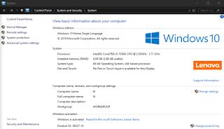 Cara melihat tipe sistem operasi Windows