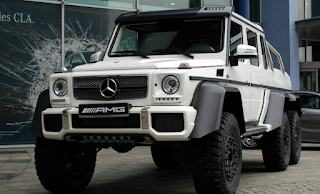 The Mercedes-Benz G63 AMG 6x6: The declaration of independence