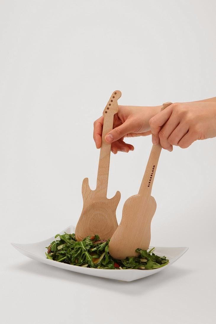 Cuchara ensalada guitarra
