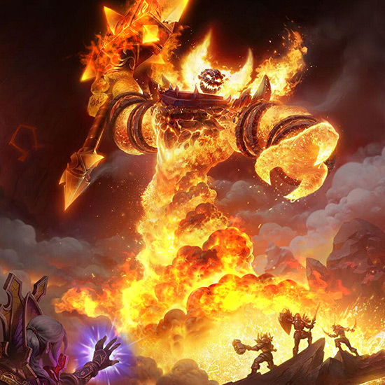 Ragnaros Classical WOW Wallpaper Engine