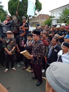 7 Pernyataan Sikap Ormas GARIS,Akhirnya Diterima Walikota Sukabumi