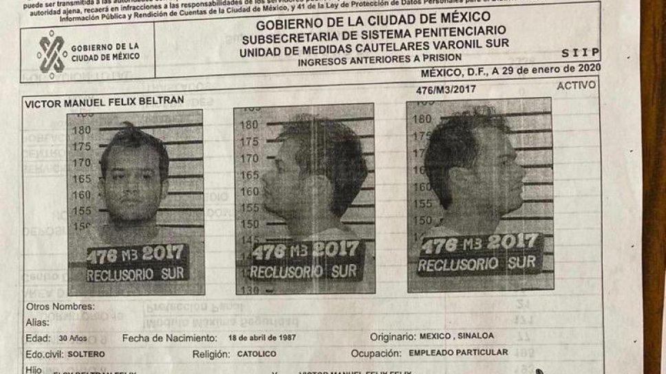 """""""El Vic"""" se fugo, es cuñado de Alfredo Guzmán, estuvo en el restaurante """"La Leche"""" cuando los Chapitos fueron levantados, 1 año después estuvo en el cumple de Iván Guzmán Salazar"""