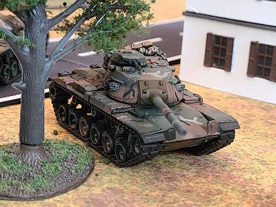 Flames of war, Team Yankee, WWIII, M60A3, Patton, FOW, MERDC camo