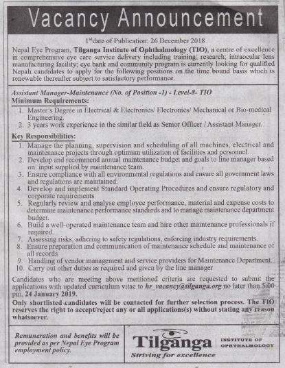 Tilganga Institute of Ophthalmology