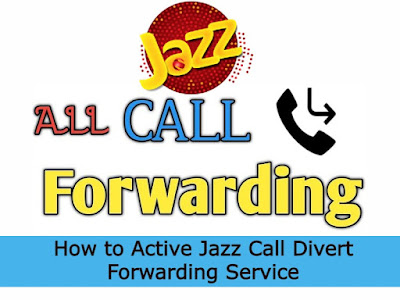 How to Active Jazz Call Divert Forwarding Service