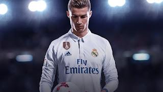 Cristiano Ronaldo FIFA 18 Wallpaper