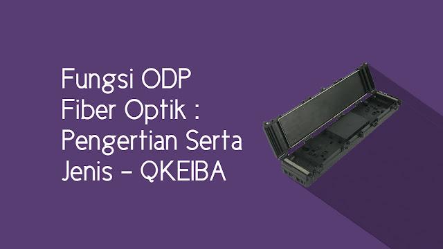 Fungsi ODP Fiber Optik : Pengertian Serta Jenis