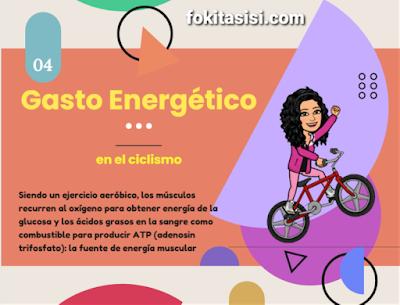 (Imagen) Montar Bicicleta requiere la utilización de energía