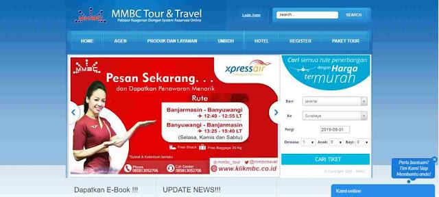 Bisnis travel agen bersama MMBC Travel