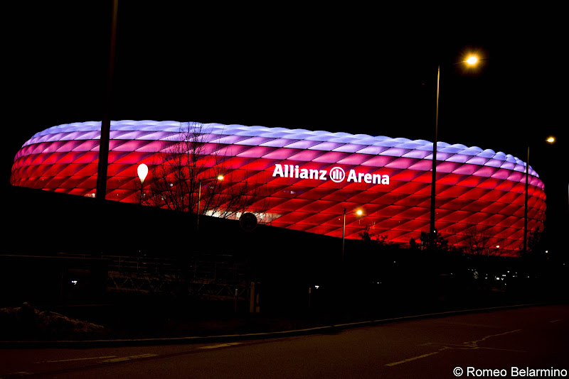 Allianz Arena Munich in a Day Long Layover