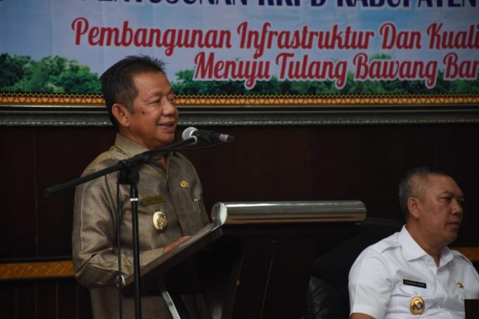 Pemkab Tubaba Glar Musrenbang Agenda Penyusunan RKPD Tahun 2021